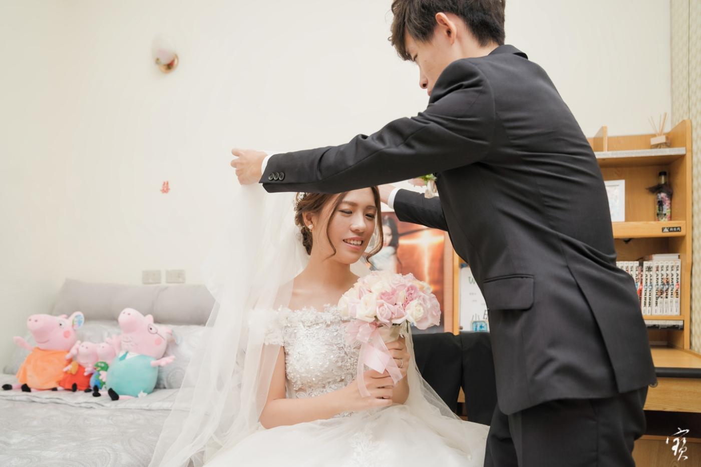 婚禮攝影 新竹彭園 冬伴影像 攝影師大寶 婚紗攝影 新娘新郎 早儀午宴20181125-159