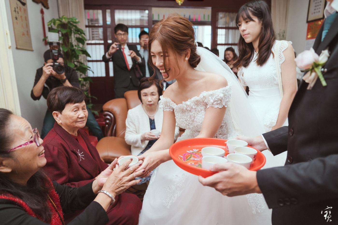 婚禮攝影 新竹彭園 冬伴影像 攝影師大寶 婚紗攝影 新娘新郎 早儀午宴20181125-198