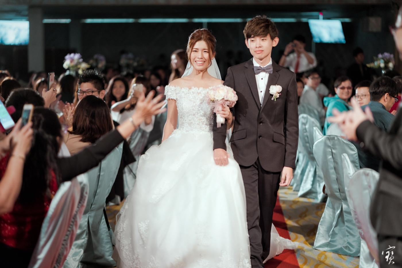 婚禮攝影 新竹彭園 冬伴影像 攝影師大寶 婚紗攝影 新娘新郎 早儀午宴20181125-344
