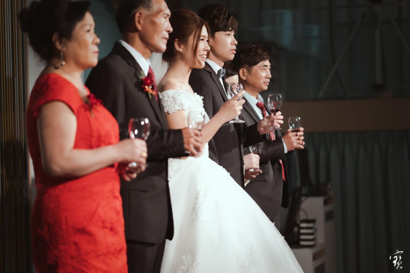 婚禮攝影 新竹彭園 冬伴影像 攝影師大寶 婚紗攝影 新娘新郎 早儀午宴20181125-349