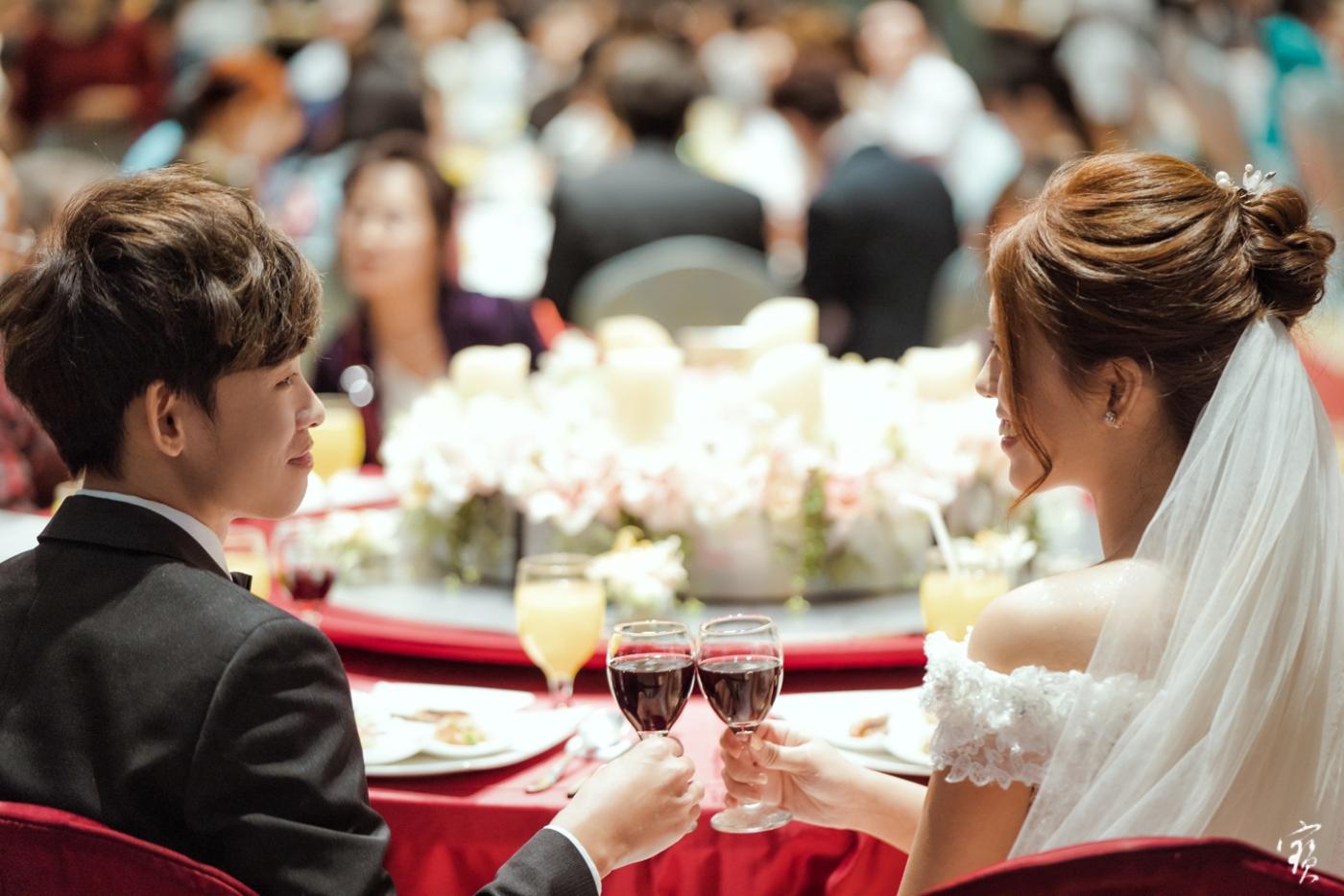 婚禮攝影 新竹彭園 冬伴影像 攝影師大寶 婚紗攝影 新娘新郎 早儀午宴20181125-357