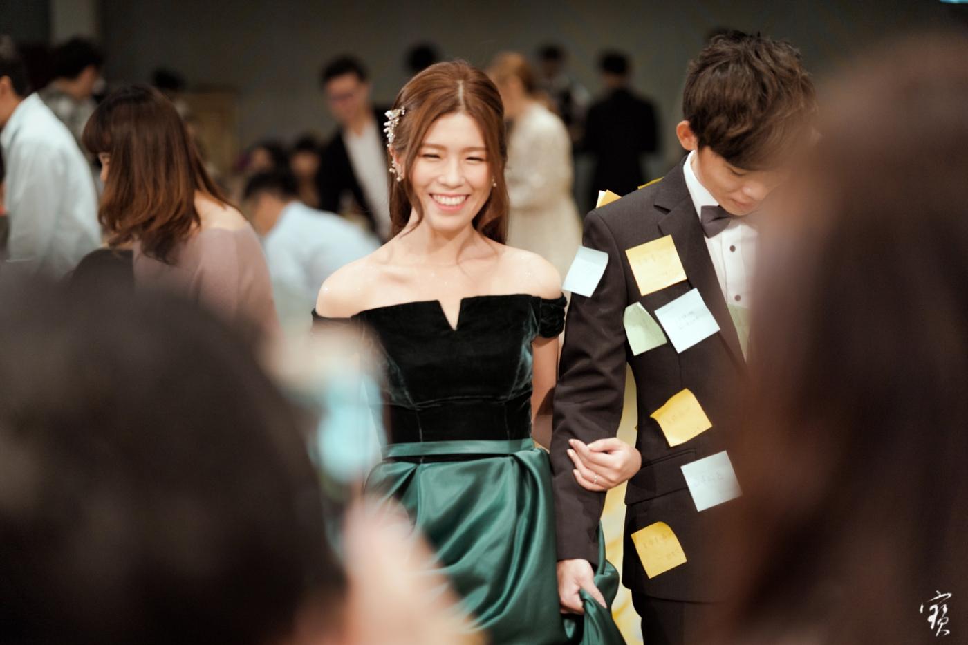 婚禮攝影 新竹彭園 冬伴影像 攝影師大寶 婚紗攝影 新娘新郎 早儀午宴20181125-378