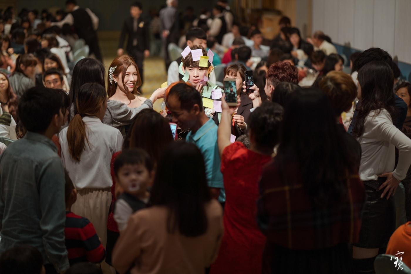 婚禮攝影 新竹彭園 冬伴影像 攝影師大寶 婚紗攝影 新娘新郎 早儀午宴20181125-394