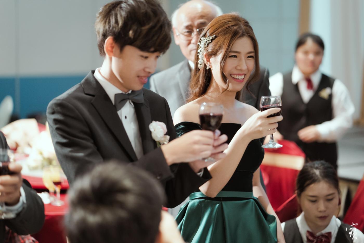 婚禮攝影 新竹彭園 冬伴影像 攝影師大寶 婚紗攝影 新娘新郎 早儀午宴20181125-430