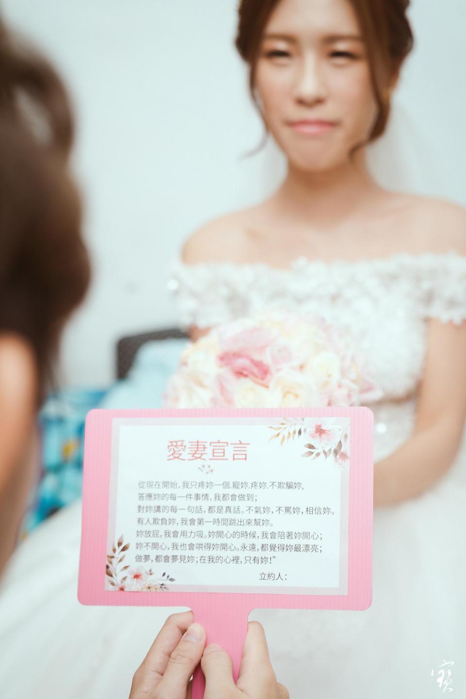 婚禮攝影 新竹彭園 冬伴影像 攝影師大寶 婚紗攝影 新娘新郎 早儀午宴20181125-56