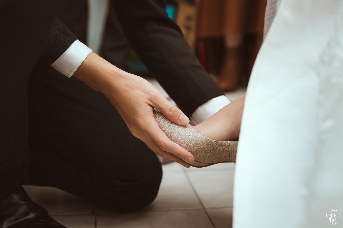婚禮攝影 新竹彭園 冬伴影像 攝影師大寶 婚紗攝影 新娘新郎 早儀午宴20181125-65
