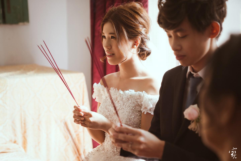 婚禮攝影 新竹彭園 冬伴影像 攝影師大寶 婚紗攝影 新娘新郎 早儀午宴20181125-69