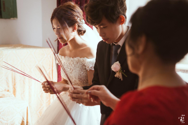婚禮攝影 新竹彭園 冬伴影像 攝影師大寶 婚紗攝影 新娘新郎 早儀午宴20181125-71