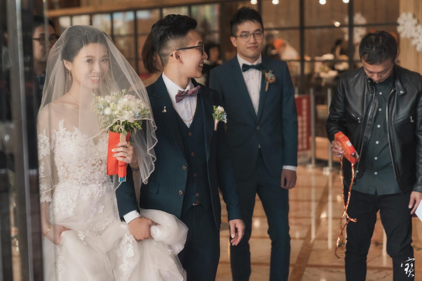 婚禮攝影 婚紗 大直 典華 冬半影像 攝影師大寶 北部攝影 台北攝影 桃園攝影 新竹攝影20181208-209
