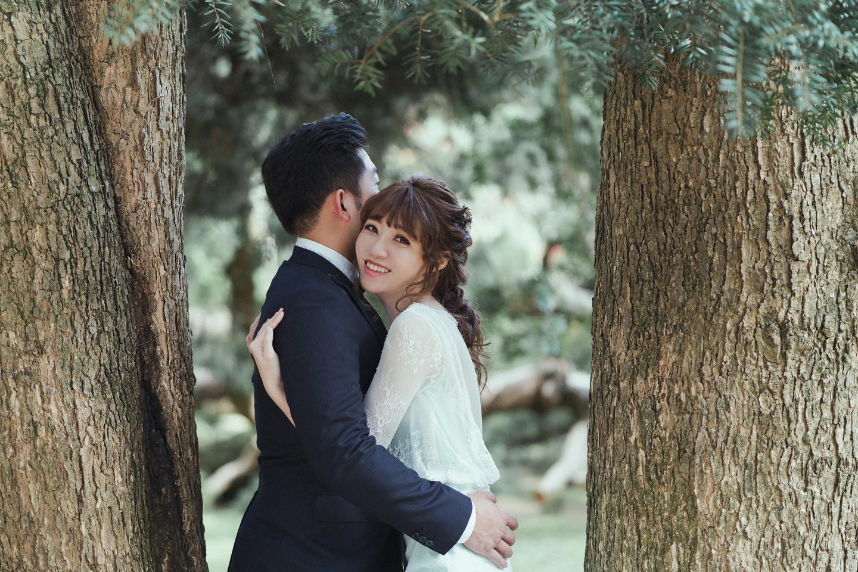 婚紗攝影 婚紗 美式婚紗 自然互動 笑容 冷水坑婚紗 陽明山婚紗 花卉試驗中心婚紗 攝影師 冬伴影像 北部_DB_8801