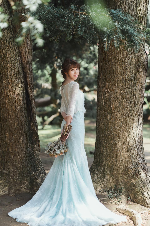 婚紗攝影 婚紗 美式婚紗 自然互動 笑容 冷水坑婚紗 陽明山婚紗 花卉試驗中心婚紗 攝影師 冬伴影像 北部_DB_8819