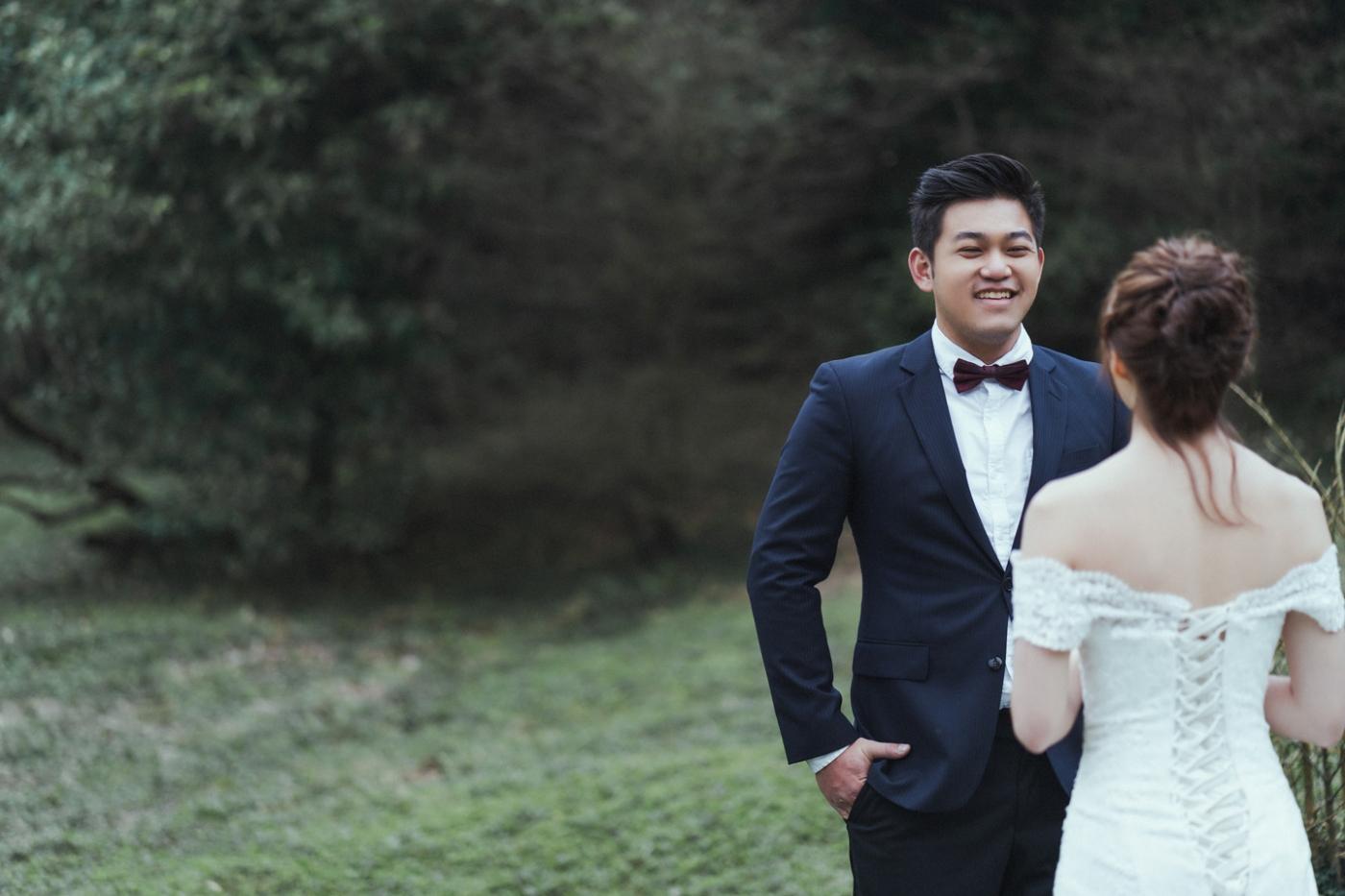婚紗攝影 婚紗 美式婚紗 自然互動 笑容 冷水坑婚紗 陽明山婚紗 花卉試驗中心婚紗 攝影師 冬伴影像 北部_DB_9041