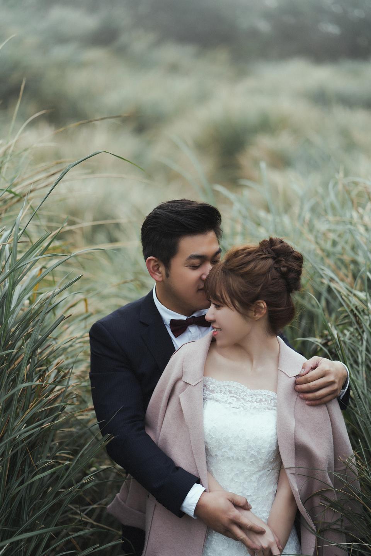 婚紗攝影 婚紗 美式婚紗 自然互動 笑容 冷水坑婚紗 陽明山婚紗 花卉試驗中心婚紗 攝影師 冬伴影像 北部_DB_9169