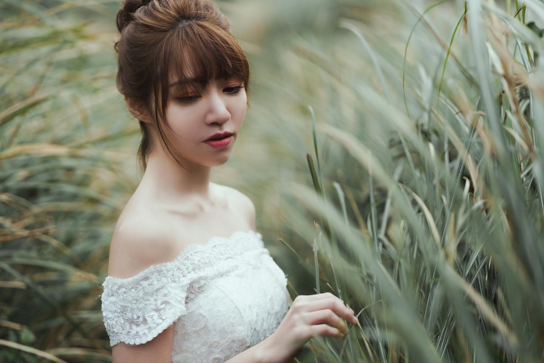 婚紗攝影 婚紗 美式婚紗 自然互動 笑容 冷水坑婚紗 陽明山婚紗 花卉試驗中心婚紗 攝影師 冬伴影像 北部_DB_9186