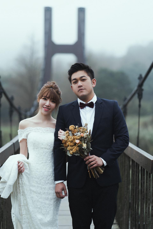 婚紗攝影 婚紗 美式婚紗 自然互動 笑容 冷水坑婚紗 陽明山婚紗 花卉試驗中心婚紗 攝影師 冬伴影像 北部_DB_9228