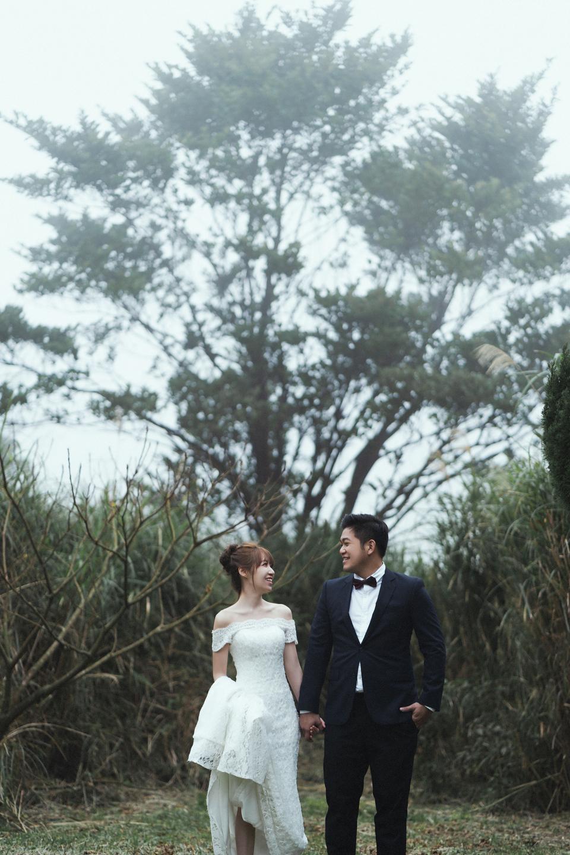 婚紗攝影 婚紗 美式婚紗 自然互動 笑容 冷水坑婚紗 陽明山婚紗 花卉試驗中心婚紗 攝影師 冬伴影像 北部_DB_9240